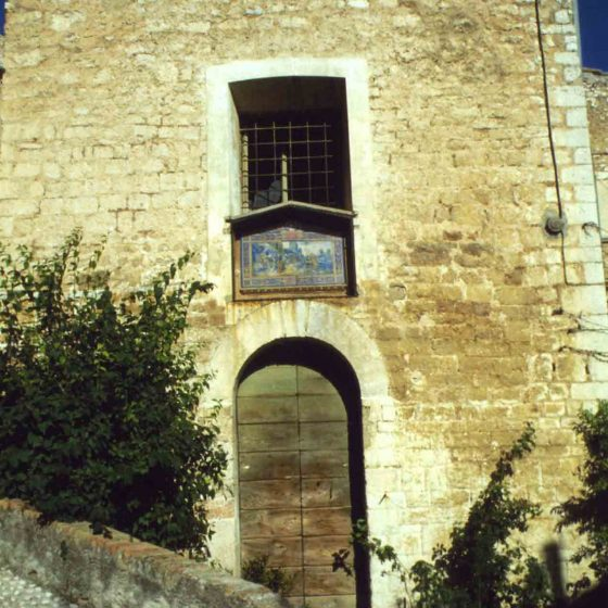 Trevi - Trevi, via Piaggia nuova «Santo Stefano» [TRE228]