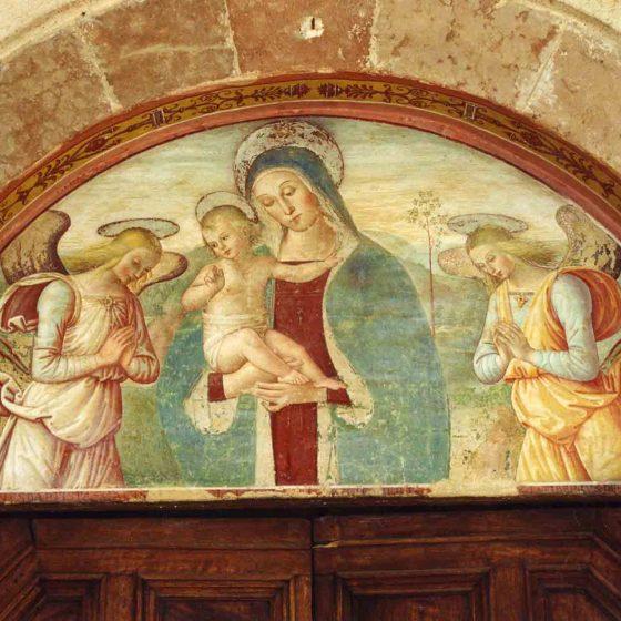 Trevi - Trevi, viale Ciuffelli chiesa di San Martino [TRE501]