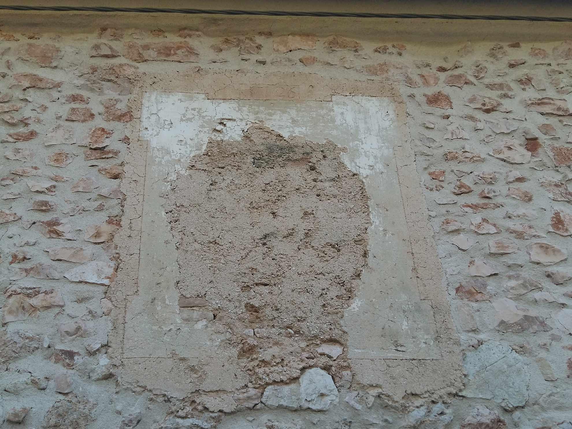 Trevi, Bovara, casa Mascio quanto resta (forse) di un'altra edicola