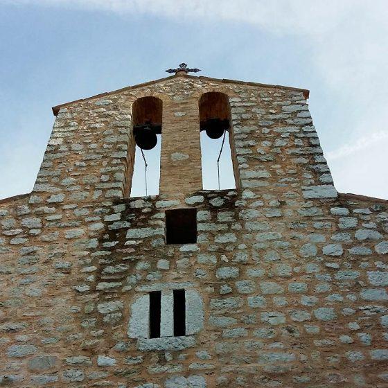 Le campane di Santa Maria di Pelano, Golaperta, Trevi - Foto di Giampaolo Filippucci, Tiziana Ravagli (con Samsung A5)
