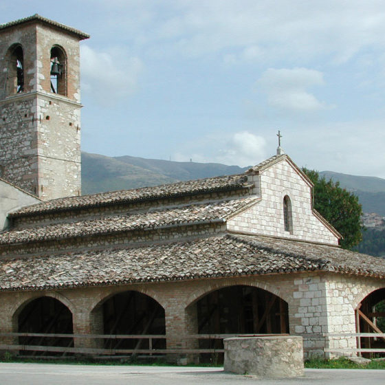 Trevi, Pietrarossa, chiesa di Santa Maria