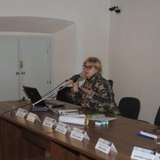 Presentazione di 'Patriarchi verdi. Itinerari in Valle Umbra' – palazzo Mauri, Spoleto, 12 marzo 2016. Simonetta Bandini, Legambiente Spoleto