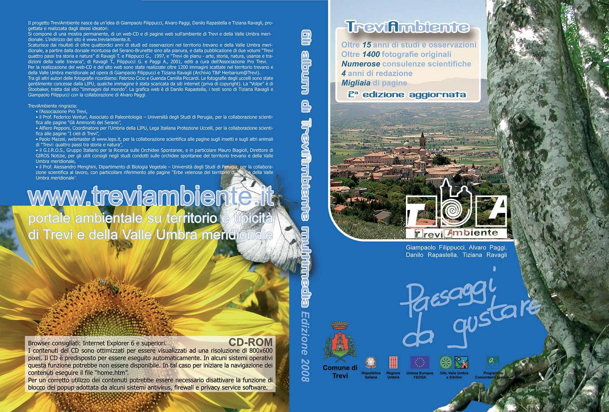 Grafica di Danilo Rapastella, Tiziana Ravagli, Giampaolo Filippucci