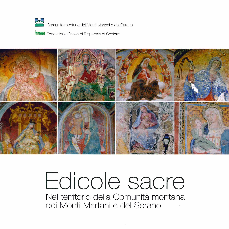 Edicole Sacre Nel territorio della Comunità montana dei Monti Martani e del Serano (copertina - 800 px x 800 px)
